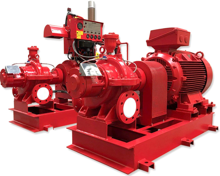 Fire electric pump